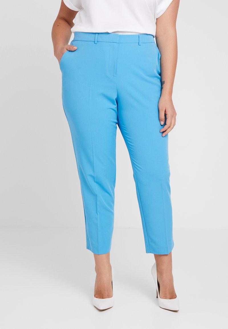 Dorothy Perkins Curve - ELASTIC BACK WAISTBAND ANKLE GRAZER - Stoffhose - turquoise