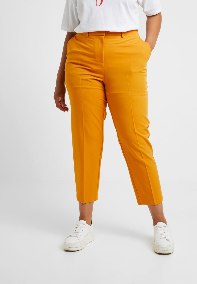 Dorothy Perkins Curve - ELASTIC BACK WAISTBAND GRAZER - Bukse - mango