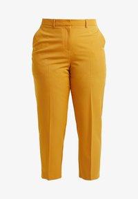 Dorothy Perkins Curve - ELASTIC BACK WAISTBAND GRAZER - Kalhoty - mango - 3