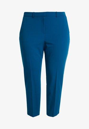 ELASTIC BACK ANKLE GRAZER - Pantalones - blue