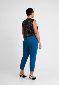 Dorothy Perkins Curve - ELASTIC BACK ANKLE GRAZER - Kalhoty - blue - 2
