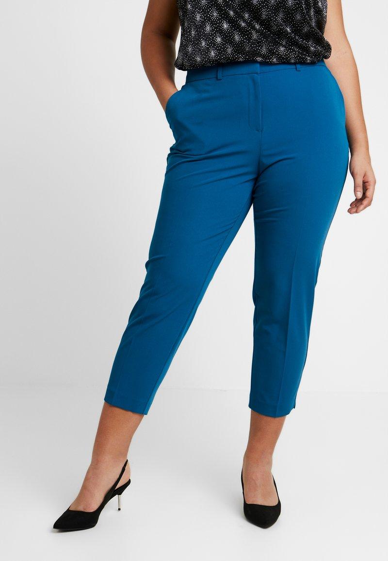 Dorothy Perkins Curve - ELASTIC BACK ANKLE GRAZER - Kalhoty - blue