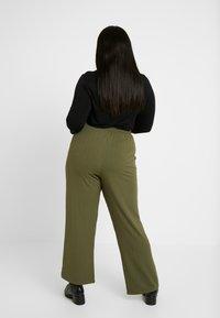 Dorothy Perkins Curve - TROUSER - Pantaloni - khaki - 3
