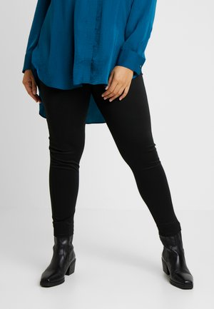 PONTE LEGGING - Leggings - Trousers - black