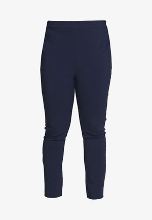 BENGALINE PULL ON TROUSER - Tygbyxor - navy