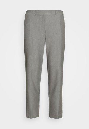 ELASTIC BACK ANKLE GRAZER - Pantalon classique - grey