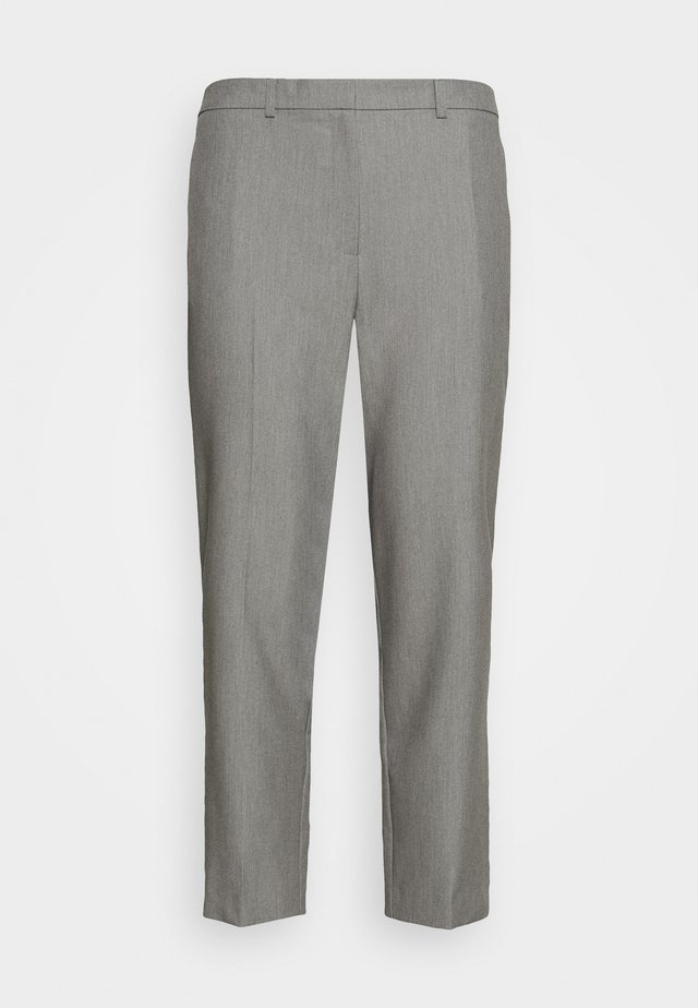 ELASTIC BACK ANKLE GRAZER - Trousers - grey