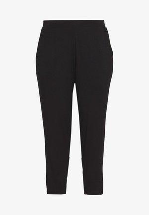 CURVE BLACK JOGGER - Spodnie treningowe - black