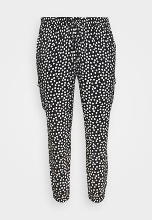 SPOT - Trousers - black