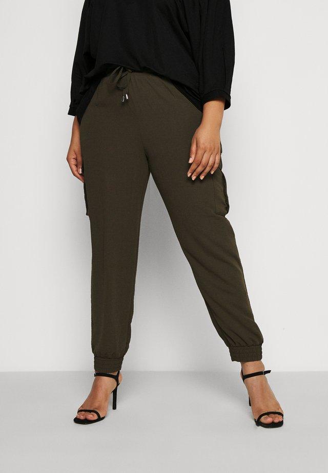 UTILITY JOGGER - Cargo trousers - khaki