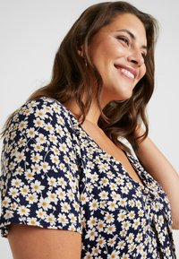 Dorothy Perkins Curve - TIE FRONT - T-shirts print - multi - 4