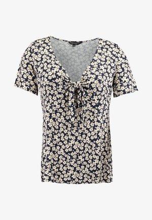 TIE FRONT - T-shirt imprimé - multi
