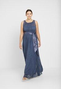 Dorothy Perkins Curve - NATALIE DRESS - Společenské šaty - dark grey - 0