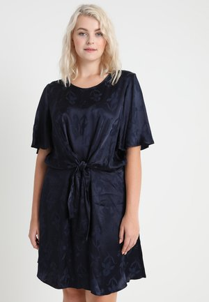 MANIPULATED KNOT DRESS - Cocktail dress / Party dress - midnight
