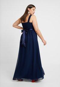 Dorothy Perkins Curve - NATALIE MAXI VOLUME LINE - Occasion wear - navy - 2