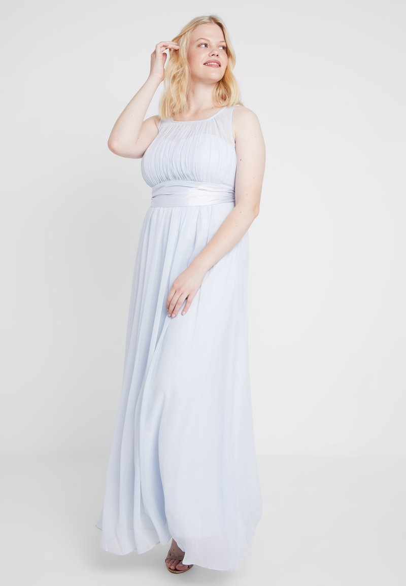 Dorothy Perkins Curve - NATALIE MAXI VOLUME LINE - Vestido de fiesta - blue