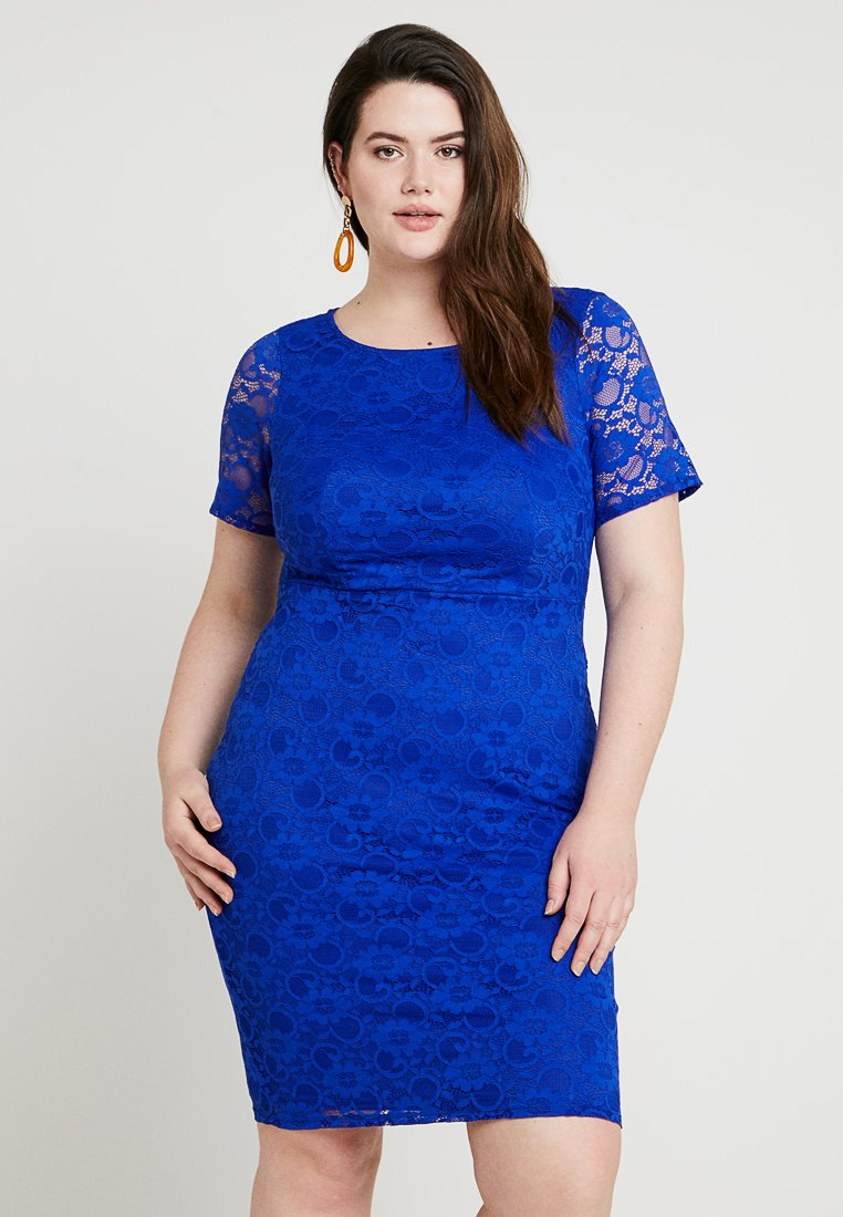 Dorothy Perkins Curve - PENCIL DRESS - Cocktail dress / Party dress - cobalt
