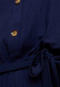 Dorothy Perkins Curve - BUTTON DOWN MIDI DRESS - Jersey dress - navy blue - 5