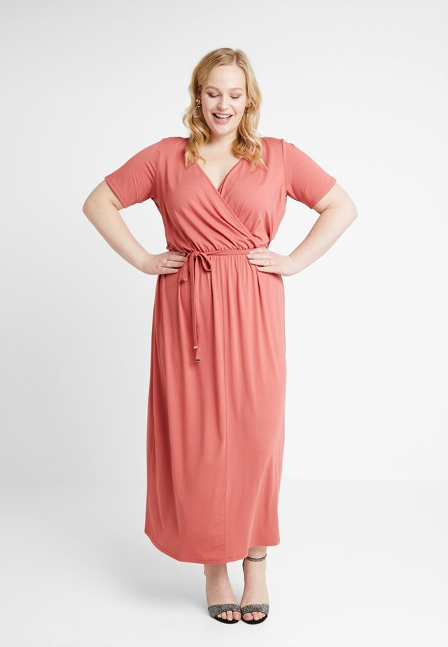 WRAP DRESS - Maxi-jurk - pink