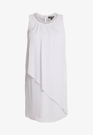 BILLIE AND BLOSSOM EMBELLISHED TRAPEZE DRESS - Robe de soirée - light grey