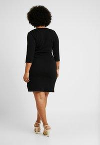 Dorothy Perkins Curve - LIVERPOOL DRESS - Jersey dress - black - 3