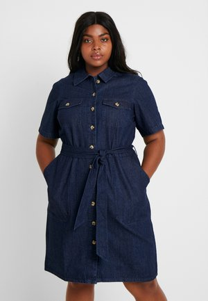 WESTERN DRESS - Robe chemise - indigo