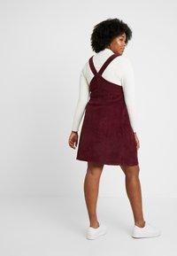 Dorothy Perkins Curve - SQUARE NECK PINNY DRESS - Day dress - purple - 3