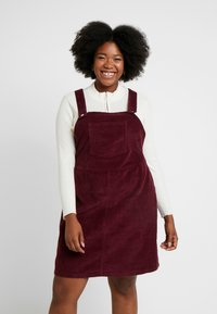 Dorothy Perkins Curve - SQUARE NECK PINNY DRESS - Day dress - purple - 0