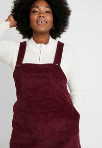 Dorothy Perkins Curve - SQUARE NECK PINNY DRESS - Day dress - purple - 4