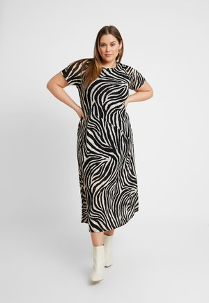 ZEBRA - Day dress - black