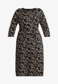 Dorothy Perkins Curve - FLORAL MOLLY GRAZER DRESS - Robe en jersey - multi - 4