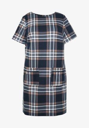 CHECK TUNIC - Pouzdrové šaty - multi