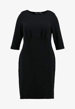 EMPIRE WAIST DRESS - Jersey dress - black