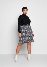 Dorothy Perkins Curve - Jersey dress - black - 1
