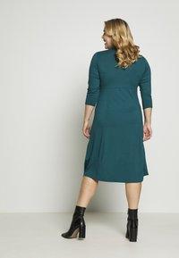 Dorothy Perkins Curve - Jersey dress - teal - 2