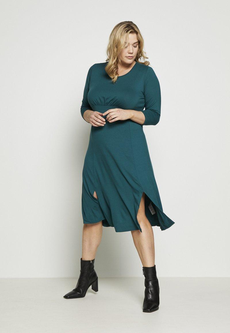 Dorothy Perkins Curve - Jersey dress - teal