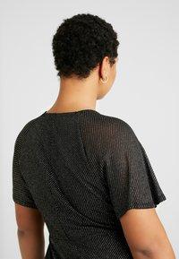 Dorothy Perkins Curve - KEYHOLE FIT AND FLARE - Vestido informal - black - 6