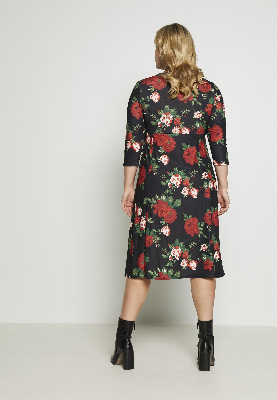 Dorothy Perkins Curve Długa sukienka - red