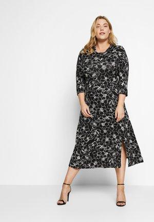 FASHION SKETCH - Jersey dress - black