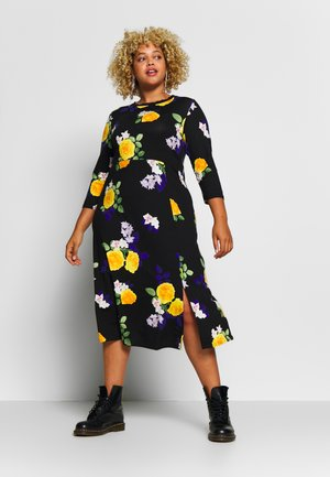 CURVE FASHION MIDI FLORAL - Maxi šaty - multi-coloured