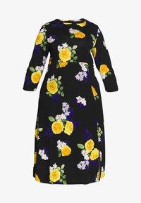 Dorothy Perkins Curve - CURVE FASHION MIDI FLORAL - Maxi dress - multi-coloured - 5