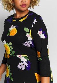 Dorothy Perkins Curve - CURVE FASHION MIDI FLORAL - Maxi dress - multi-coloured - 6
