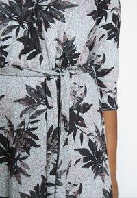 Dorothy Perkins Curve - BRUSHED WRAP DRESS - Jumper dress - multi - 5