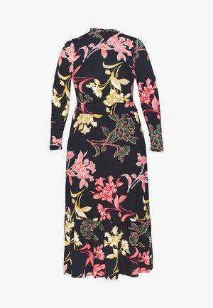 CURVE SHIRRED NECK - Vestido informal - multi coloured