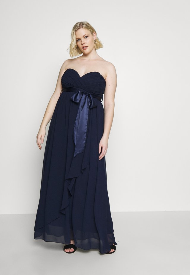 BENNI BANDEAU MAXI DRESS - Iltapuku - navy