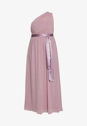 SADIE SHOULDER DRESS - Gallakjole - dark rose