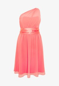 Dorothy Perkins Curve - JENNI ONE SHOULDER MIDI DRESS - Sukienka koktajlowa - coral - 5