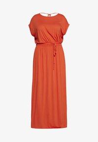 Dorothy Perkins Curve - CURVE TIE BACK MAXIDRESS - Maxi šaty - orange - 0
