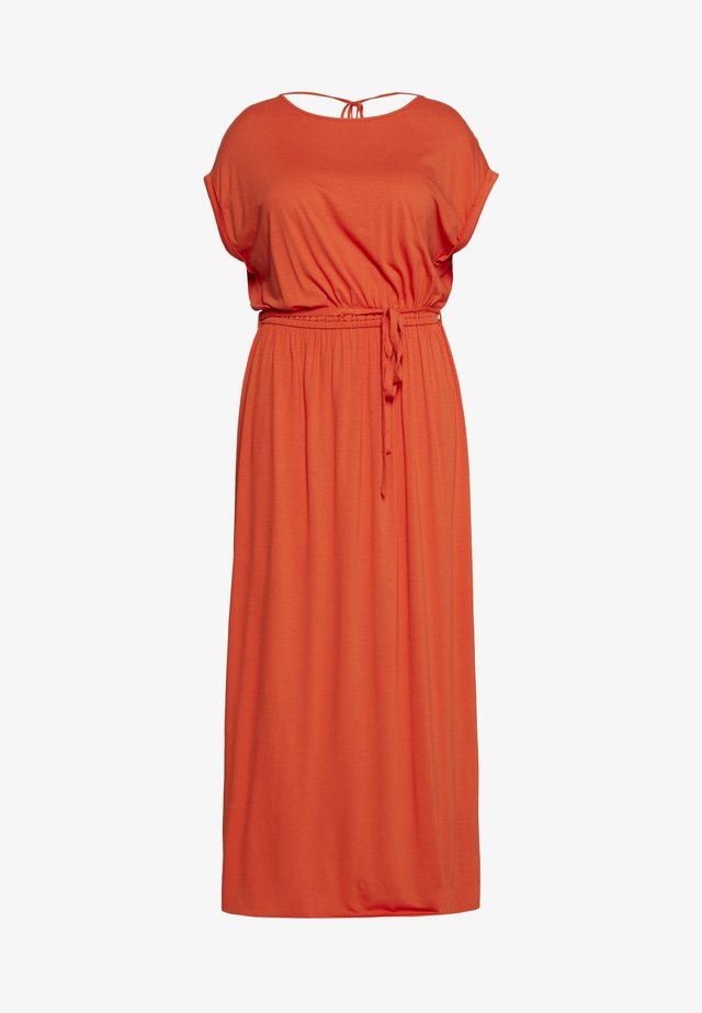 CURVE TIE BACK MAXIDRESS - Maksimekko - orange