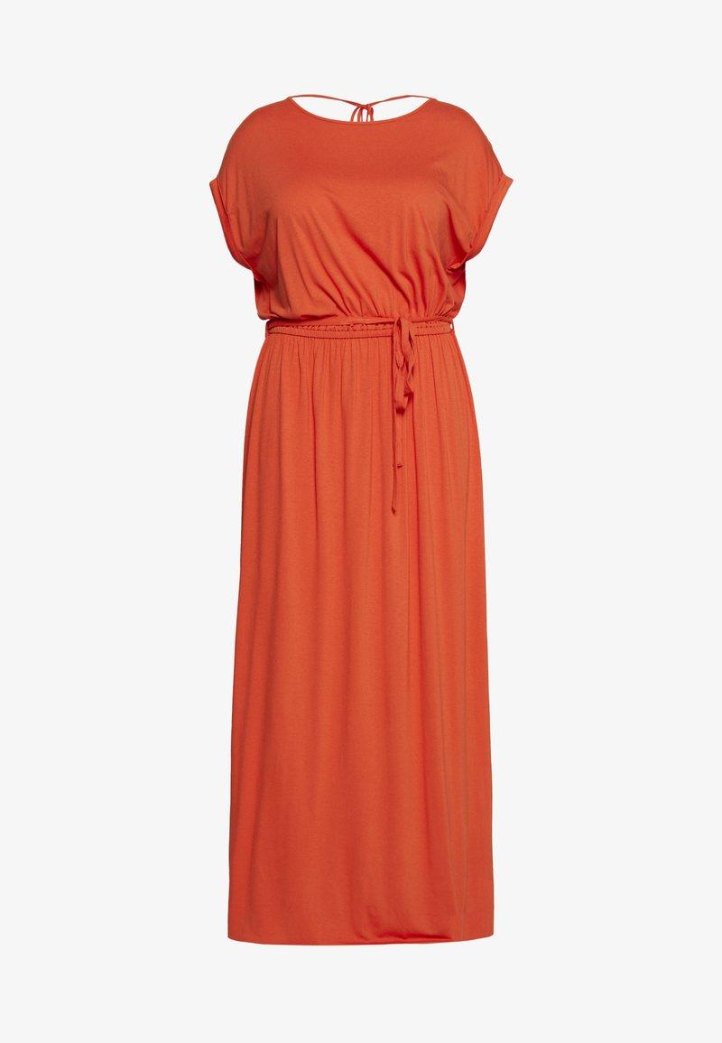 Dorothy Perkins Curve - CURVE TIE BACK MAXIDRESS - Maxi šaty - orange